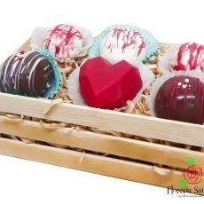 bombas de chocolate